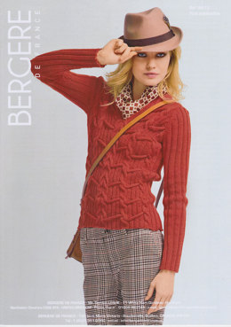 Fitted Sweater in Bergere de France Berlaine - 18013