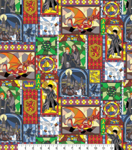 Visage Textiles Licensed - Harry Potter Stained Glass Characters