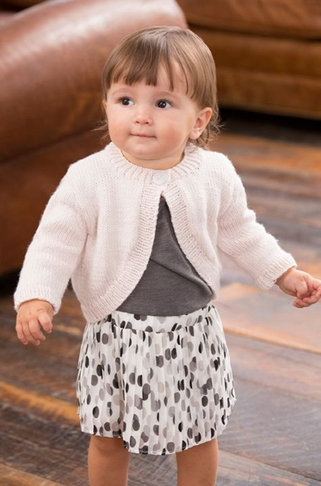 Perfect Princess Shrug in Red Heart Baby - LW3955EN | Knitting ...