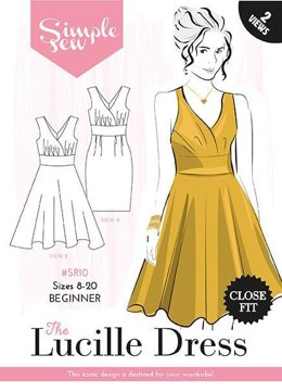 Simple Sew Patterns The Lucille Dress SR10 - Sewing Pattern