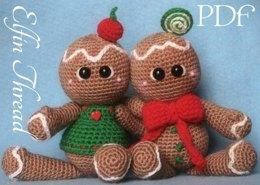 Gingerbread Cookies Dolls