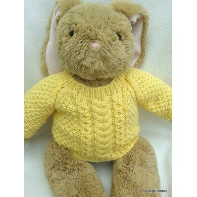 Teddy bear Aran Sweater