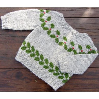 The Holly Knitting pattern by kiddiwinksknits