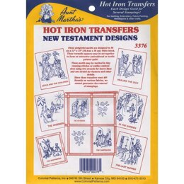 Aunt Martha's Hot Iron Transfers - New Testament - TPC3376 - Leaflet