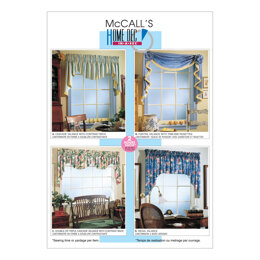 McCall's 2 Hour Valance Classics M3089 - Sewing Pattern