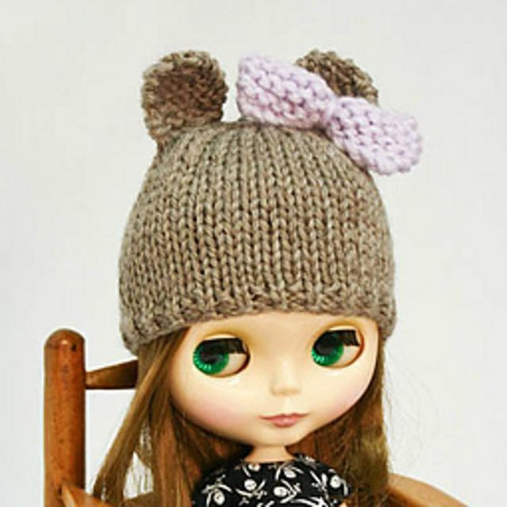 Blythe bear hat knitting pattern by annearchy knitting patterns blythe bear hat zoom bankloansurffo Gallery