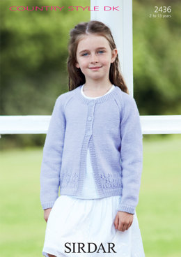 Cardigan in Sirdar Country Style DK - 2436 - Downloadable PDF