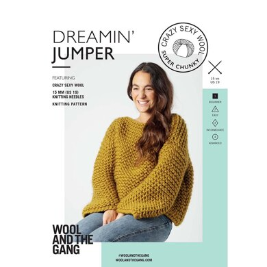 Dreamin' Jumper in Wool and the Gang Crazy Sexy Wool - V664778730 - Leaflet