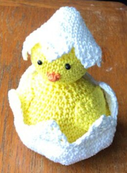 Easter Chick with Egg or Bonnet