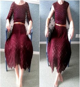 Ruby Lace Dress