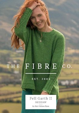 Skiddaw Sweater in The Fibre Co. Arranmore Light - Downloadable PDF