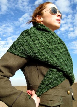 Integral Shawlette and Shawl