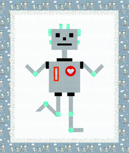 Michael Miller Fabrics Robbie Robot - Downloadable PDF
