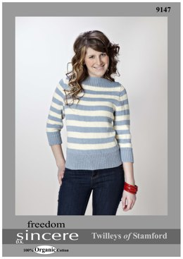 Boat Neck Sweater in Twilleys Freedom Sincere - 9147