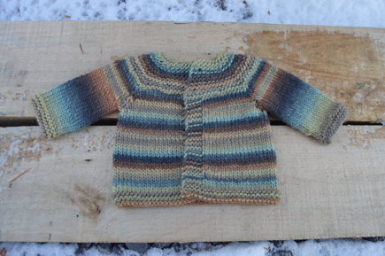 985bca1140ee Winter baby needs a sweater knitting project by Jenn H