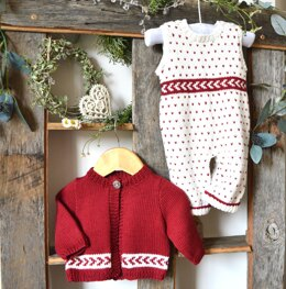 Babies 'First Christmas' Outfit - P026