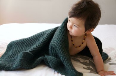 Green Growth Baby Blanket