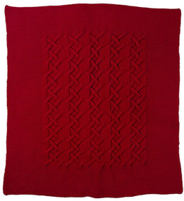 Alora Throw in Berroco Comfort