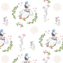 Craft Cotton Company Peter Rabbit and Friends - Puddleduck