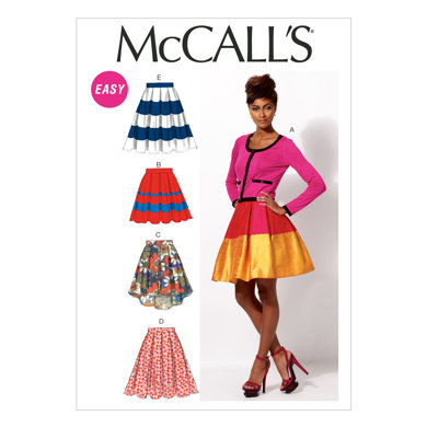 McCall's Misses' Skirts and Petticoat M6706 - Sewing Pattern