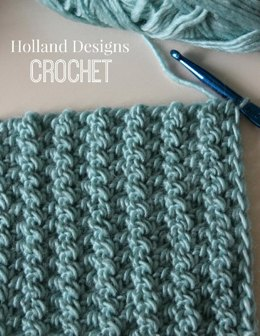 Half Triple Crochet Blanket or Scarf