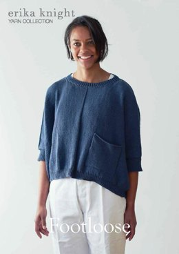 Footloose Sweater in Erika Knight Gossypium Cotton