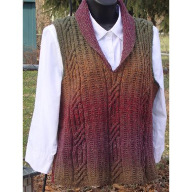 Cable and Cowl Vest