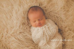 Thunderstruck Baby Cocoon or Swaddle Sack