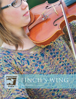 Finch's Wing Pullover in Juniper Moon Findley Dappled - JMF04-03 - Downloadable PDF