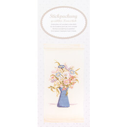 Rico Flower Bouquet Hanging Embroidery Kit - Multi