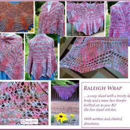 Raleigh Wrap  ...  a cozy shawl