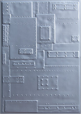 Sizzix 3D Texture Fades Embossing Folder By Tim Holtz - Foundry