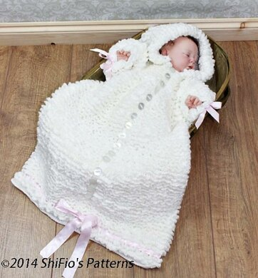 Baby Sleeping Bag Crochet Pattern 134 Crochet Pattern By