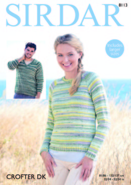 694192bc37541 Sweaters in Sirdar Crofter DK - 8113 - Downloadable PDF