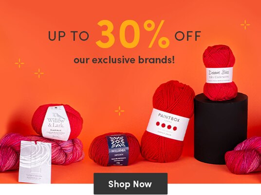 Up to 30 percent off our exclusive brands!