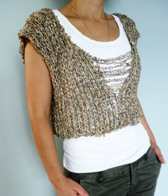 Loose Knit Shredded Camisole