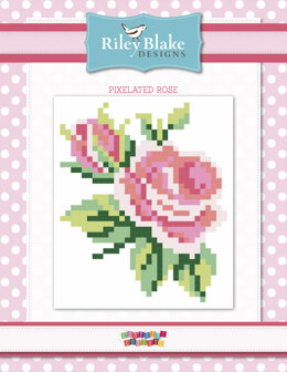 Riley Blake Pixelated Rose - Downloadable PDF
