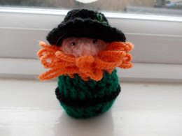 Leprechaun (chocolate cover) decoration