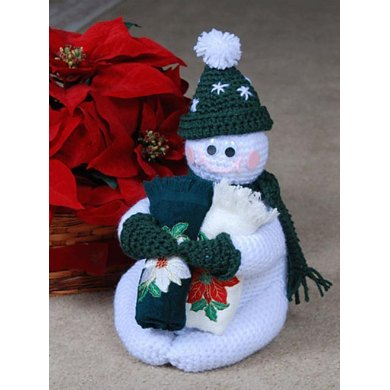 0551 Frosty Guest Towel Caddy