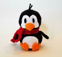 Cute Crochet Penguin