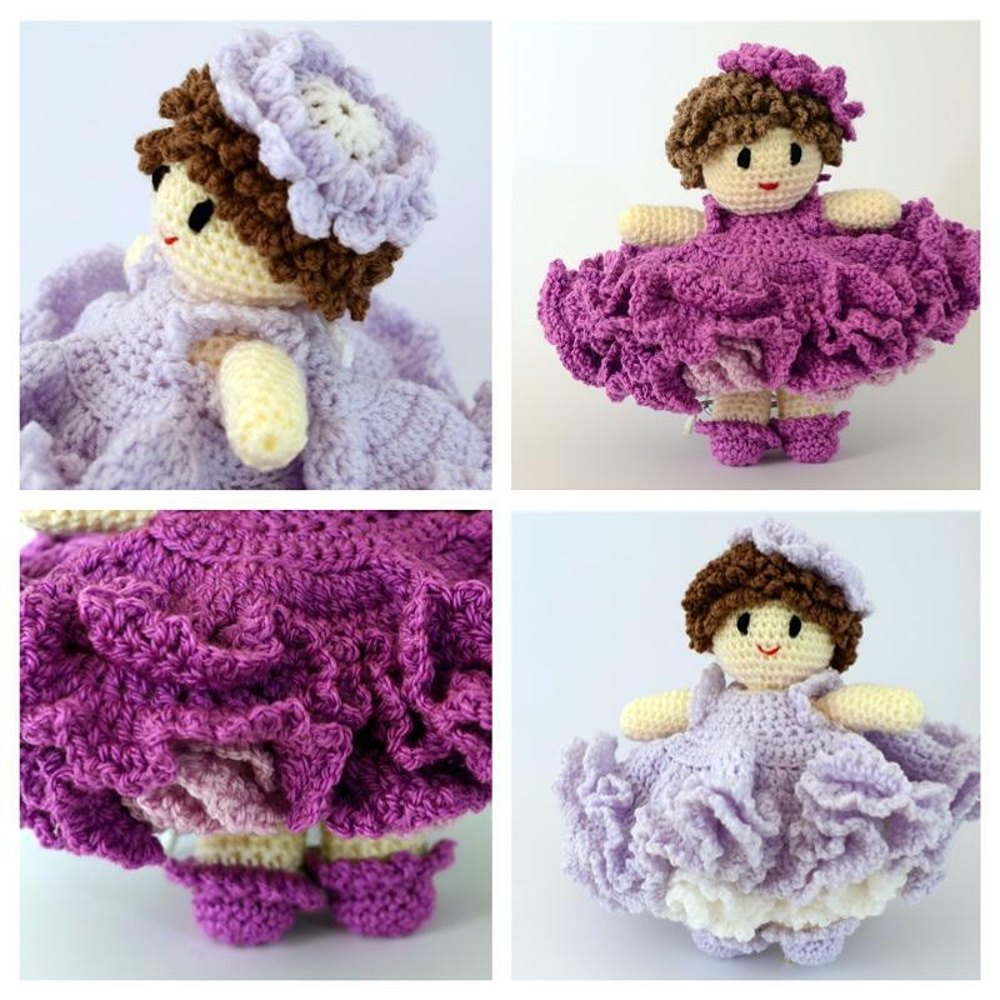 Belinda Crochet Doll Crochet Pattern By Ali Crafts Designs