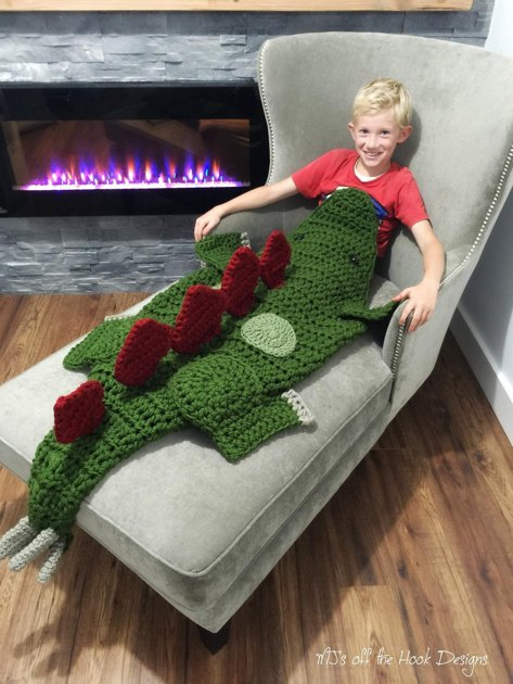 Bulky Amp Quick Stegosaurus Crochet Pattern By Mjsoffthehook