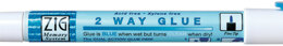 Zig 2-Way Glue Pen 12/Pkg - Fine Tip
