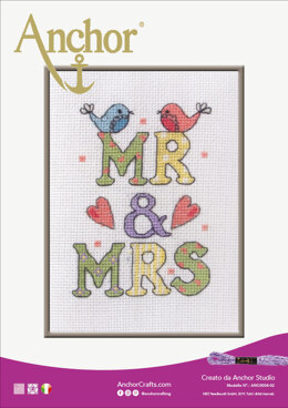Wedding Celebrations -  Mr and Mrs in Anchor - Downloadable PDF