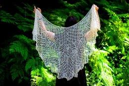 Evensong Beaded Lace Shawl