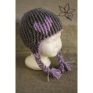 Full of Love Earflap Beanie
