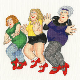 Bothy Threads Dancing Class Cross Stitch Kit
