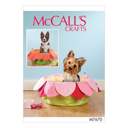 McCall's Pet Beds M7670 - Sewing Pattern