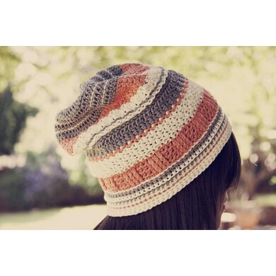 Reversible Textured Slouch Beanie