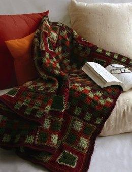 Squares Blanket in Patons Decor